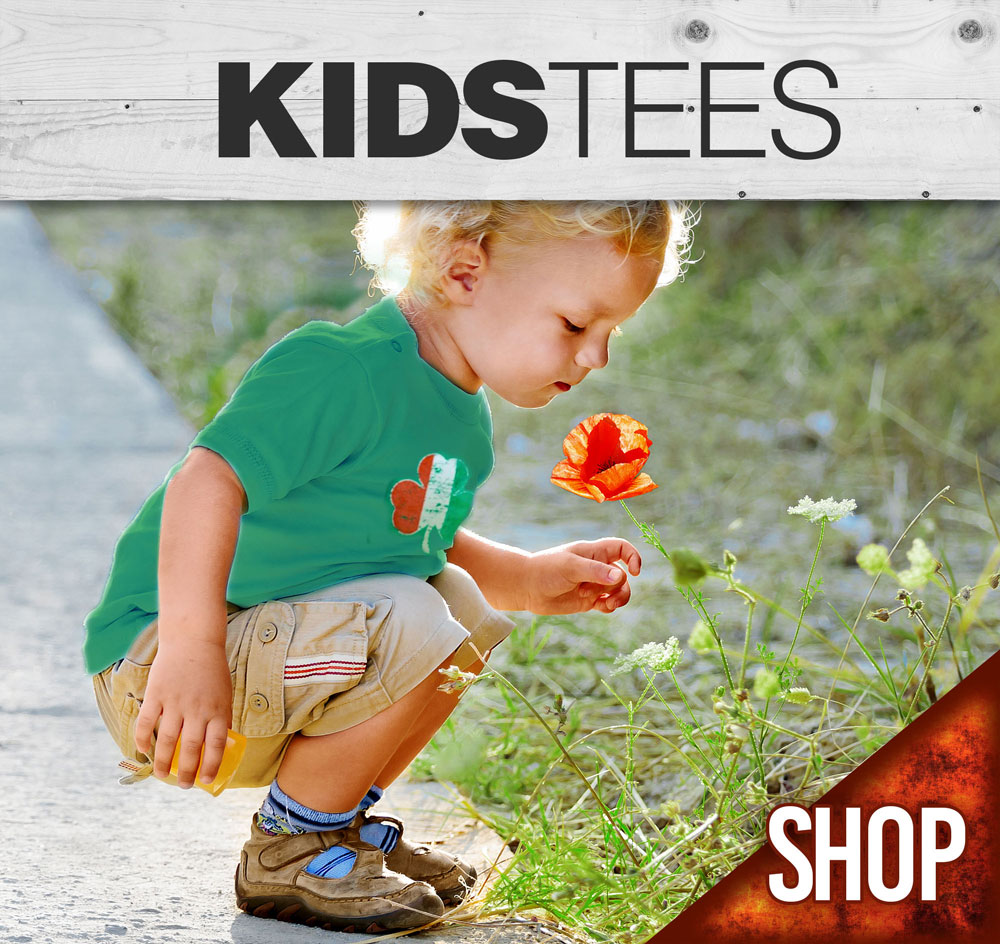 Kids tee shirts and tops